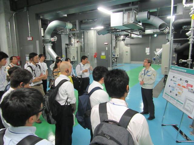 エネルギーセンター見学