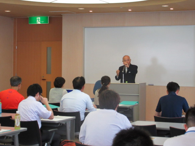 「日本のエネルギー戦略と今後」と題して柏木孝夫先生の講義