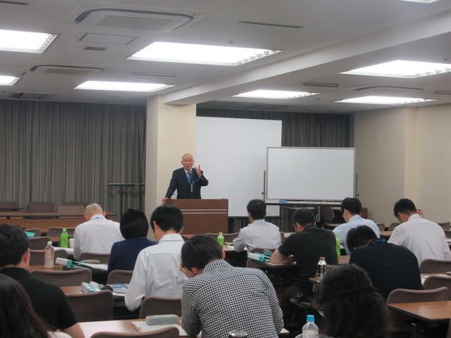 講師:柏木先生の講義