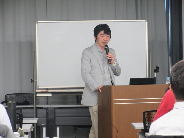 栗山 浩先生の講義