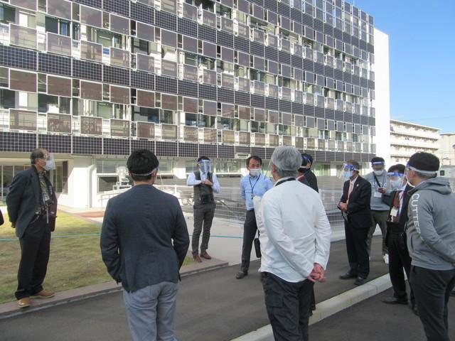 愛知県環境調査センターの見学